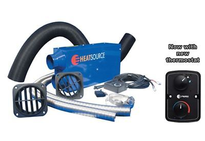 PROPEX HEATSOURCE 12V HS2000 SINGLE OUTLET LPG GAS CARAVAN CAMPER HEATER SYSTEM  (Single Outlet System)