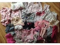 Baby bundle of clothes 6-9/9-12/12-18