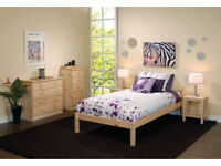 Free UK Delivery Single Bed Pine 3ft Single Bed Wooden Frame