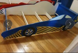 Kids Racing Car Bed plus mattress-can deliver!!