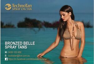 Bronzed Belle Spray Tans $25 Canning Vale Canning Area Preview