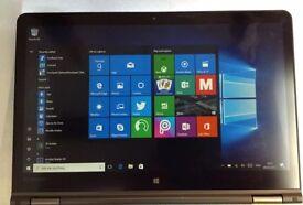 Lenovo Thinkpad yoga 14 Windows 10 enterprise Intel core i72.40GH 4GB RAM 256GB Hard Drive