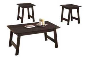 Brand New 3pc Coffee Table Set!