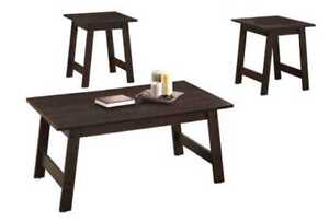 Back to School SPECIAL! - - Brand New 3pc Coffee Table Set!