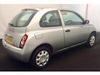 """2005 NISSAN MICRA 1.2 S [ """"PART X"""" PRICED TO CLEAR ] SHORT MOT..HISTORY..DRIVES"""