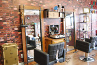look for threading and  hairstylist, commission up to  80%
