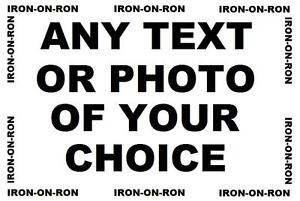 ANY-TEXT-OR-PHOTO-A4-IRON-ON-TRANSFER-YOUR-CHOICE-PERSONALISED-OR-NOT-DESIGN