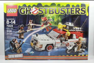 NEUF! LEGO Ghostbusters 75828 Ecto-1&2