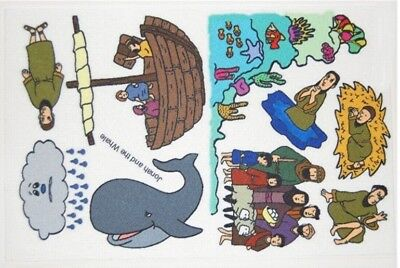 Jonah and the Whale Felt / Flannel Board Bible -