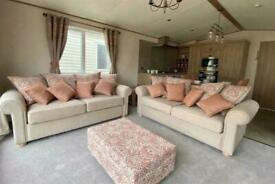 Luxury Static Caravan at Tattershall Lakes, 2 bed, New, 2021 site fees included