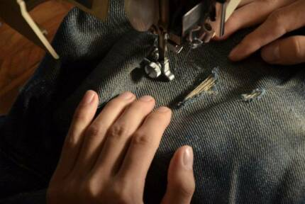 Fine Cloth Repair, Alteration, Sewing, Hand knitted jumpers