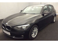 Black BMW 116d 1.6 2014 5 door Manual FROM £41 PER WEEK!