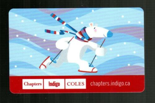 CHAPTERS ( Canada ) Polar Bear Wearing Snow Shoes 2008 Gift Card ( $0 )