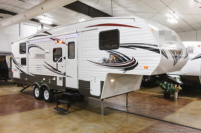 2014 New 259rbss Lite Bunkhouse 5th Fifth Wheel Travel