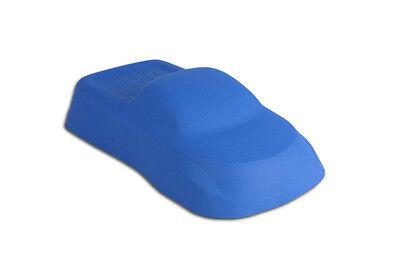 Powder Coating Paint Blue Oval Racing Wrinkle 1lb .45kg