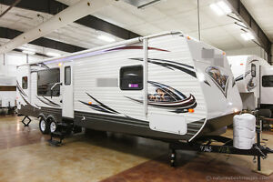 New-2014-30RKSS-Rear-Kitchen-Travel-Trailer-Camper-with-Slide-Out-Never-Used-RV
