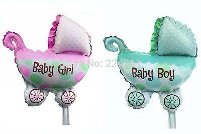 für mädchen oder junge kleine kinderwagen folienballons geb (Baby-dusche Für Mädchen)