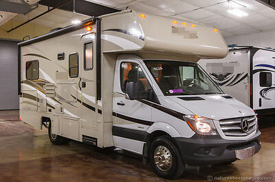 New 2014 mercedes benz model 2150 class c diesel motorhome for Used mercedes benz rv for sale