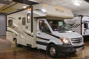New 2014 Mercedes Benz Model 2150 Class C Diesel Motorhome with Slide Out