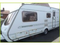 Swift Abbey 4 Berth Luxury Touring Caravan Sterling Group REDUCED