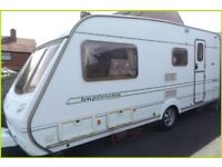 Swift Abbey 4 Berth Luxury Touring Caravan Limited Edition Sterling Group. BARGAIN