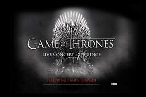 Game of Thrones Live - Saturday March 4 - Section 118, Row 21
