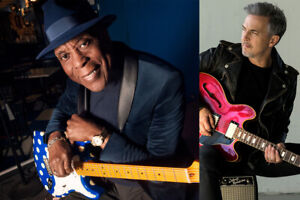 BUDDY GUY/COLIN JAMES--PARTERRE Iere RANGEE/FRONT ROW FLOORS-AA