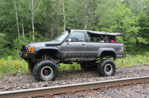 LOCKERS ARMOUR T-CASE DOUBLER  & MORE!! 1987 Toyota 4Runner