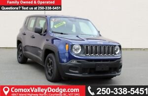 2016 Jeep Renegade Sport ONE OWNER, KEYLESS ENTRY, MANUAL