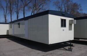 A Clean And Affordable Office Trailer Rental For Your Job Site!