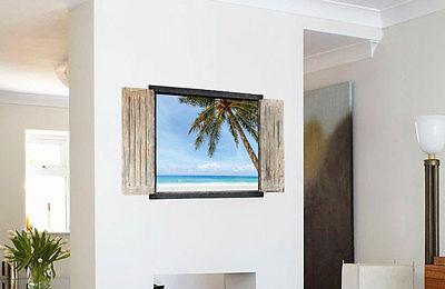 3D Wandtattoo Wandsticker Kinderzimmer Panorama Ausblick Strand Meer Sea  #118