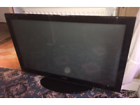 "SAMSUNG 50"" Plasma HD TV with built in free view and remote"