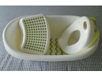 Ikea Bath tub, Foot stool and Potty Set