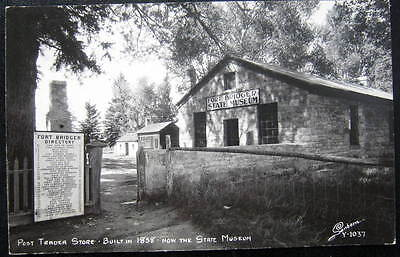 Fort Bridger WY~ POST TRADER STORE ~ SANBORN RPPC