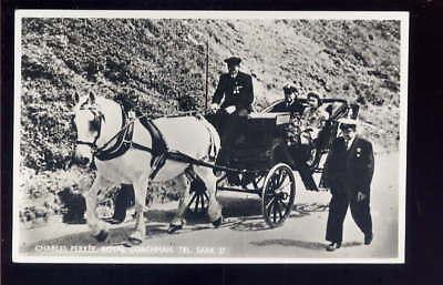 Channel Islands SARK Royal Visit Advert 1957? RP PPC