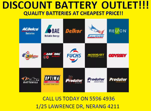 Discount Battery Outlet NERANG!! Nerang Gold Coast West Preview