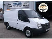 2013 62 FORD TRANSIT SWB 330 RWD 6 SPD 125BHP WITH AIR CON BLUETOOTH 2TONNE TOW
