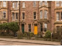 Bright, Spacious Double Bedroom in Marchmont, Available June 1st- August 31st 2018