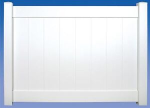 PVC Privacy Fence Supply