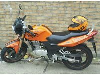 SINNIS STEALTH 125CC naked sports bike learner legal 125 with gears going cheap