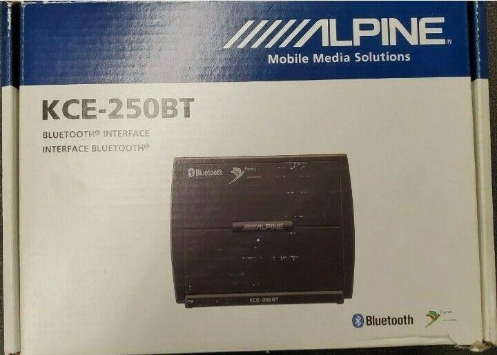Alpine KCE-250BT Bluetooth® Adapter