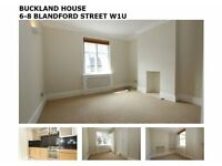 2 BED APARTMENT TO LET W1U UNFURNISHED AVAILABLE NOW
