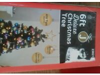 Black 6ft christmas tree