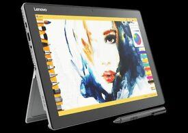 "NEW LENOVI MIIX 510 - 12"" TOUCHSCREEN LAPTOP/TABLET CORE I5 8GB RAM 256 SSD"