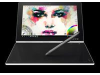 Windows 10 Pro Lenovo Yoga Book 2-1 Tablet/Laptop hybrid