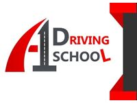 A1 Driving School - DVSA Approved Driving Instructor - Automatic & Manual lessons