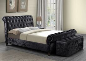 Chesterfield Bed any fabric any colour MASSIVE sale !