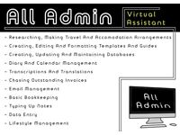 Professional Virtual Assistant/PA