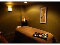 2 Female Massage Therapists in Beautiful Salon Environment
