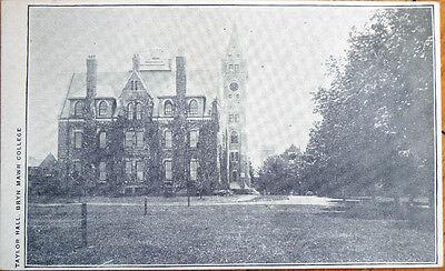 1905 Postcard  Taylor Hall  Bryn Mawr College   Pennsylvania Pa